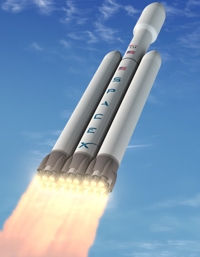 Tên lửa đẩy mạnh nhất thế giới sẽ được phóng vào cuối năm nay