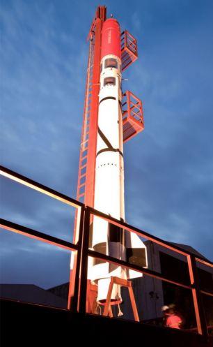 Tên lửa tự chế đầu tiên sắp được phóng vào vũ trụ
