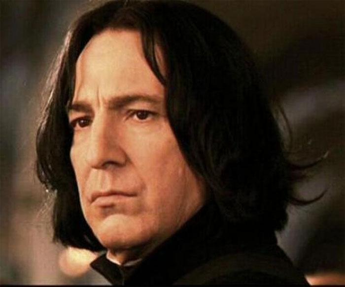 Thầy Snape là người có giọng hay nhất hành tinh