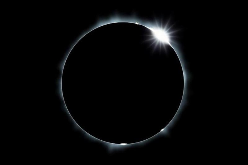 Thế giới đón Vành lửa mặt trời, Nguyệt thực nửa tối năm 2017