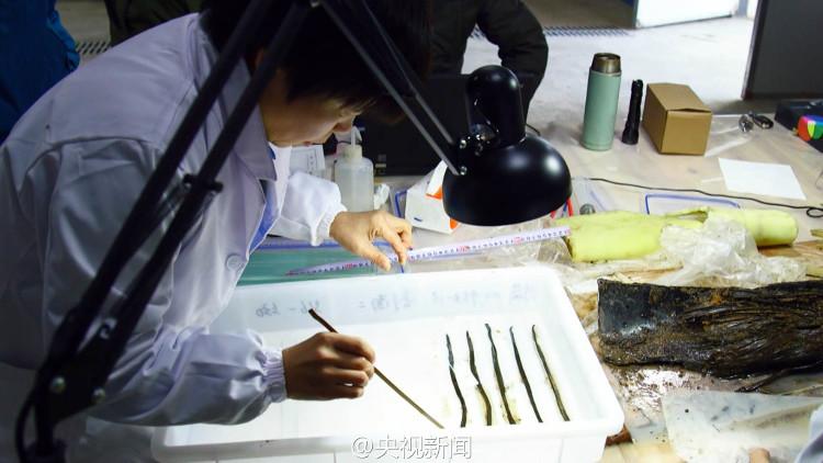 Thẻ tre trong mộ vua nghi sách Khổng Tử thất truyền 1.800 năm