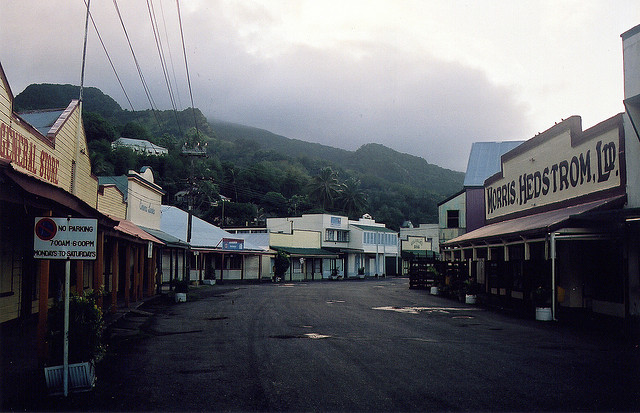 Thị trấn cảng lịch sử Levuka