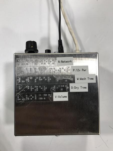 Thiết bị cho phép máy giặt giao tiếp với người khiếm thị