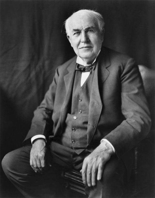 Thomas Edison – nhà sáng chế 10.000 lần thất bại