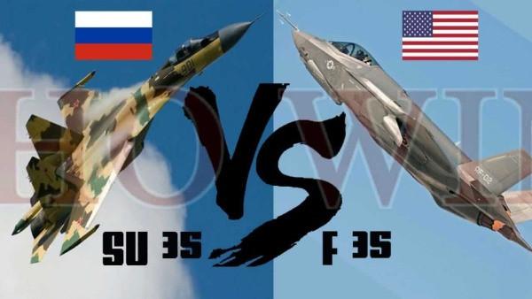 Tiêm kích F-35 và Su-35: Mèo nào cắn mỉu nào?