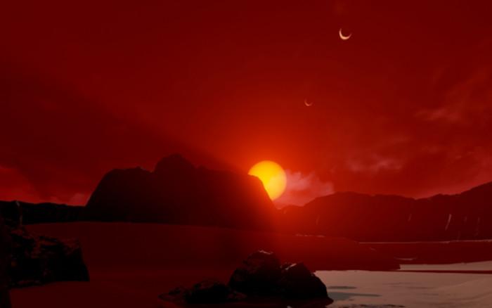 Tìm ra bằng chứng đầu tiên chứng minh Hệ Mặt trời 2.0 có nước