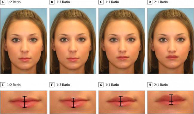 Tìm ra tiêu chuẩn cho đôi môi hoàn hảo được nhiều người khao khát nhất