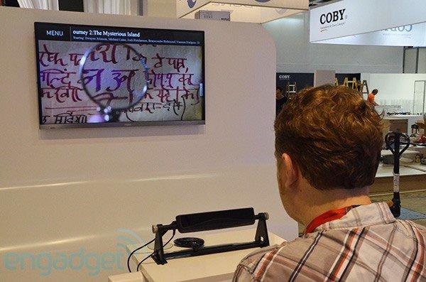 Tivi điều khiển bằng mắt