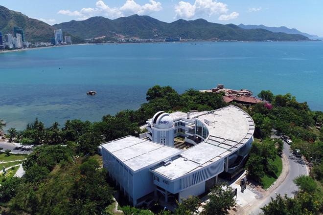 Toàn cảnh đài thiên văn thuộc Trung tâm Vũ trụ Việt Nam