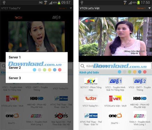 Tổng hợp ứng dụng xem tivi miễn phí trên Android