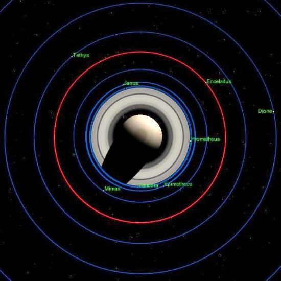 Tổng quan về mặt trăng Enceladus của sao Thổ