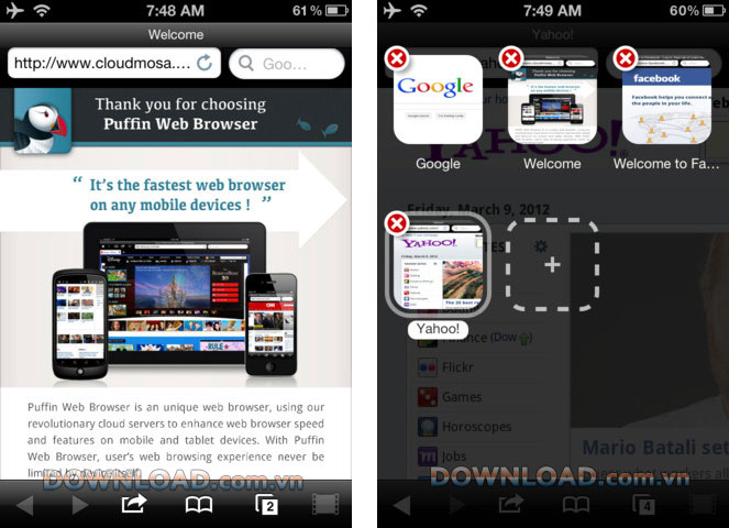 Top các trình duyệt được tải nhiều nhất cho Android