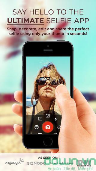 Top các ứng dụng hỗ trợ chụp ảnh tự sướng trên di động