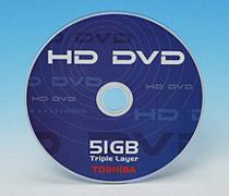 Toshiba sắp ra mắt đĩa HD DVD 3 lớp 51GB