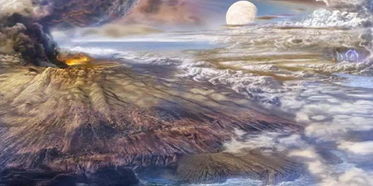 Trái đất từng là mặt phẳng bao phủ bởi đại dương?