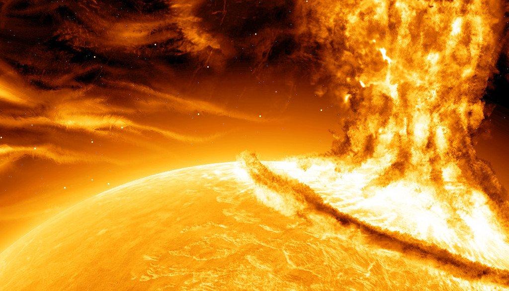 Trái Đất từng may mắn thoát siêu bão Mặt Trời