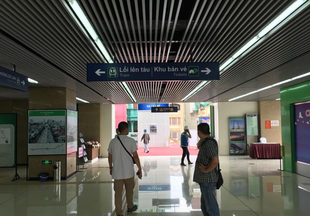 Trải nghiệm thực tế nhà ga đường sắt trên cao đầu tiên ở Việt Nam