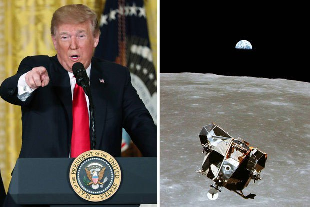 Trump lệnh cho quân đội Mỹ phải thống trị thiên hà