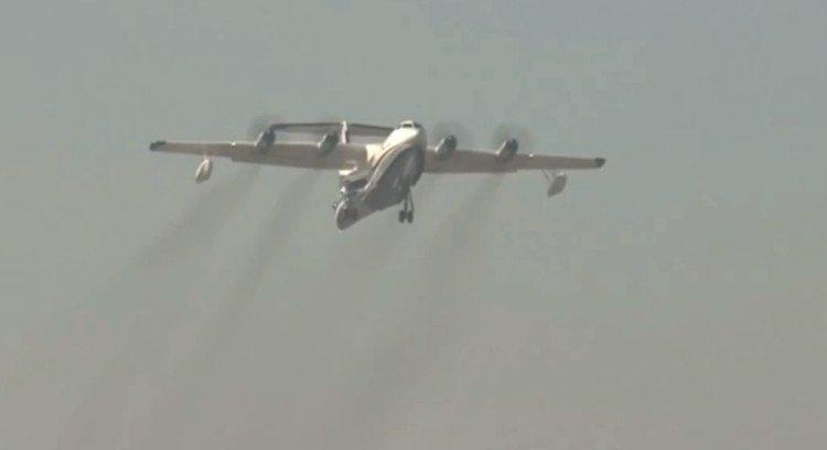 Trung Quốc sắp đưa vào sử dụng thủy phi cơ lớn nhất thế giới