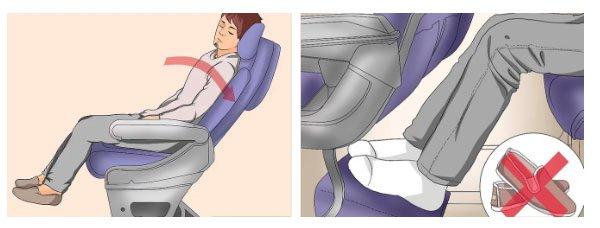 Tư thế tốt nhất để bạn ngủ trên máy bay, vừa không gây hại lại ngủ ngon