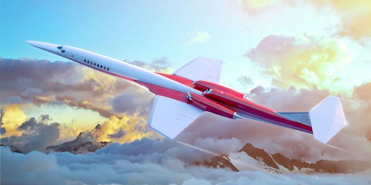 Tương lai máy bay chở khách siêu thanh không gây tiếng nổ