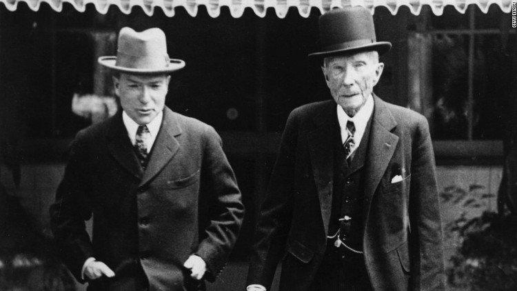 """Tỷ phú John Rockefeller: """"Biến mọi thảm họa thành cơ hội"""""""