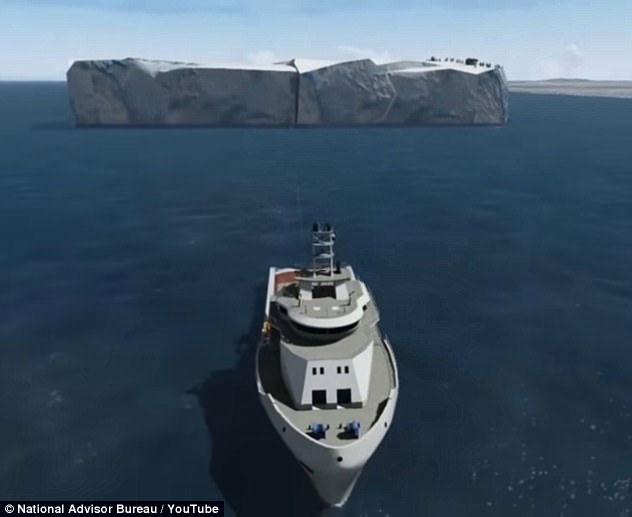 UAE tính kéo băng Nam Cực xa 9.000km về làm nước uống