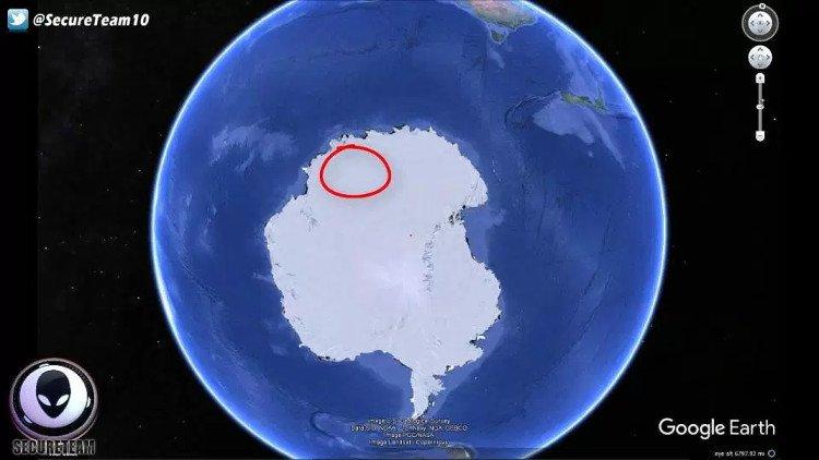 Vật thể đường kính 243km ở Nam Cực gây đại tuyệt chủng?
