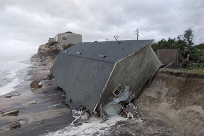 Vệt tàn phá siêu bão Irma để lại Florida