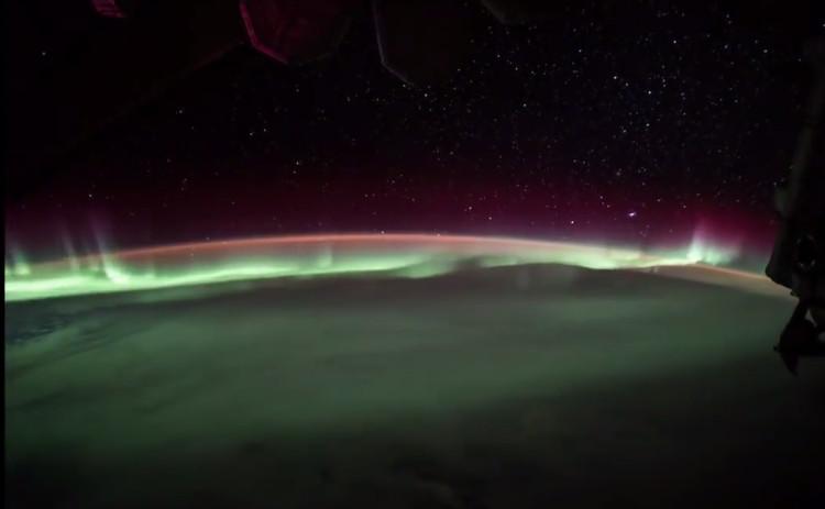 Video: ISS ghi hình hiện tượng nam cực quang hiếm gặp
