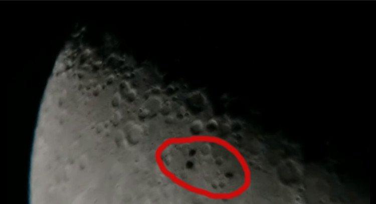 Video: Quay được cảnh vật thể lạ bay qua Mặt Trăng