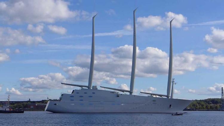 Video: Siêu du thuyền lớn nhất thế giới của tỷ phú Nga