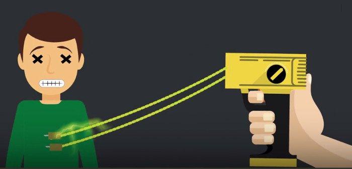 Video: Sức mạnh làm tê liệt não ngay lập tức của súng điện