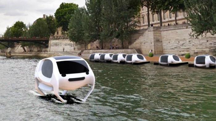 Video: Taxi lội nước siêu tốc