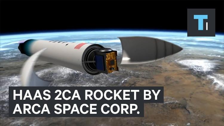 Video: Tên lửa đặc biệt bay vào không gian chỉ trong 5 phút