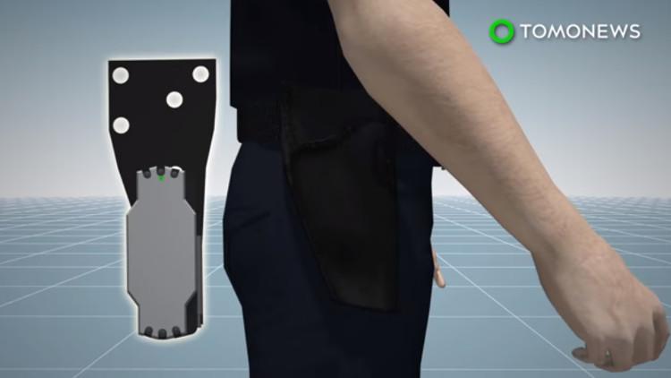 Video: Thiết bị kích hoạt máy quay khi rút súng cho cảnh sát Mỹ