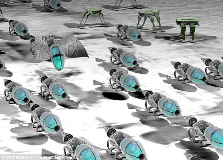 Vũ khí nhỏ như côn trùng có thể làm nhân loại tuyệt diệt