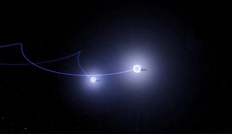 Vụ nổ siêu tân tinh bắn sao siêu tốc xuyên thiên hà