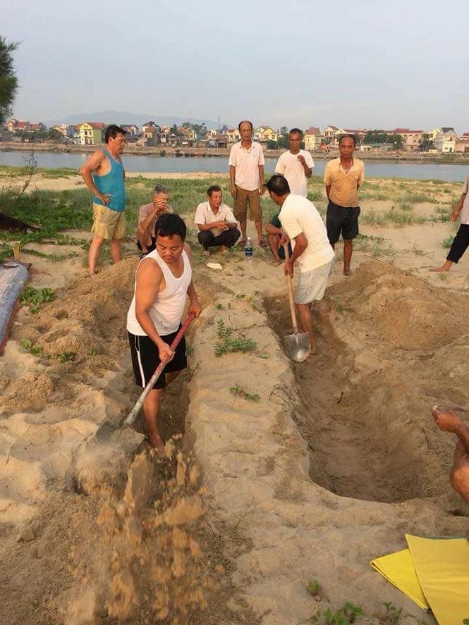 Xác cá mái chèo liên tục dạt vào bờ biển Quảng Bình – Hà Tĩnh