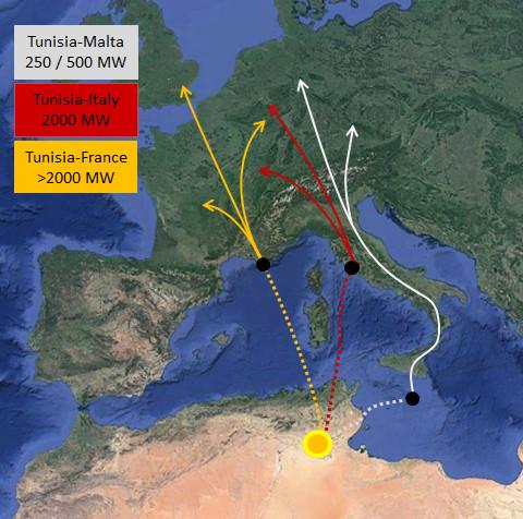 Xây cánh đồng năng lượng Mặt Trời tại sa mạc Sahara để cấp điện cho châu Âu