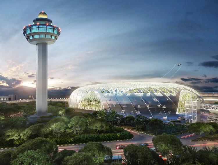 Xây Thiên đường bên trong sân bay Singapore