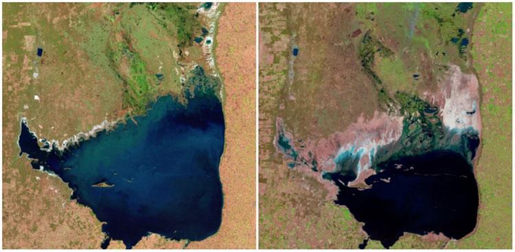 Xem lại ảnh của NASA để thấy Trái đất đã thay đổi khủng khiếp đến thế nào