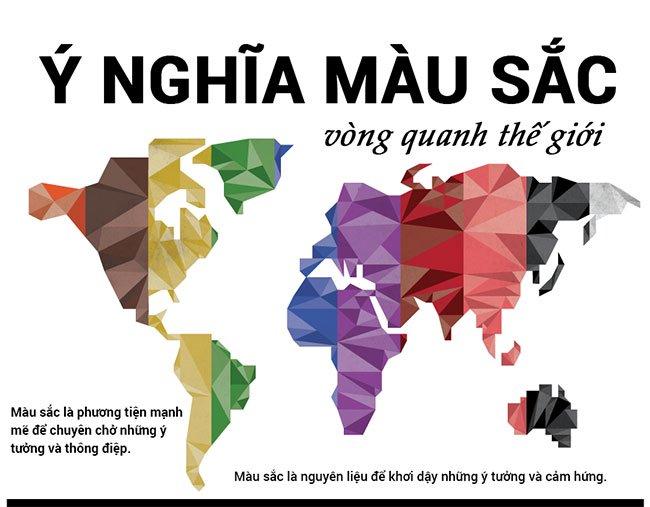 Ý nghĩa màu sắc trong các nền văn hóa và tôn giáo trên thế giới