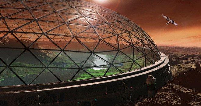Ý tưởng táo bạo của anh chàng kiến trúc sư người Mỹ: Trồng nhà trên Sao Hỏa từ rễ nấm