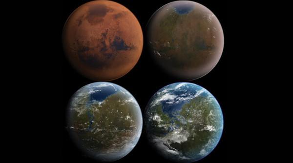 5 cách làm ấm sao Hỏa không cần bom hạt nhân