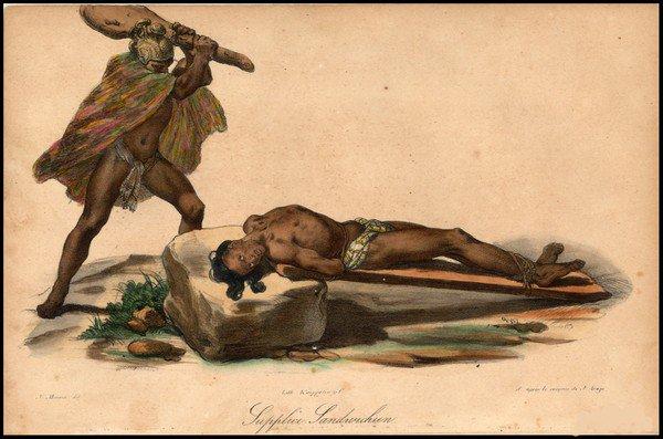 7 nghi lễ hiến tế người sống rùng rợn rất thế giới