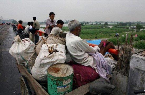 Ấn Độ: lũ lụt làm 10 người chết, 300.000 người sơ tán
