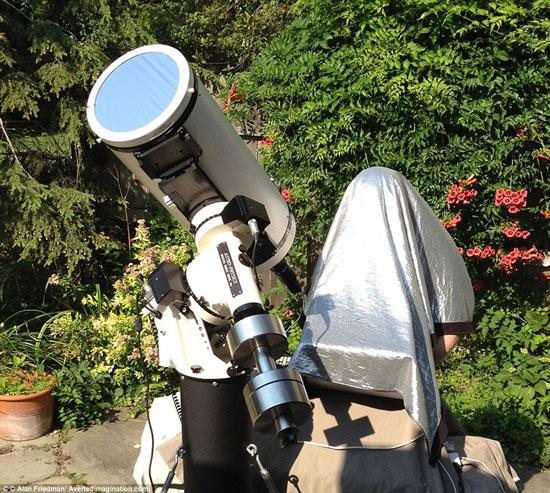 Ảnh cực nét về Hệ mặt trời chụp bằng máy rẻ tiền