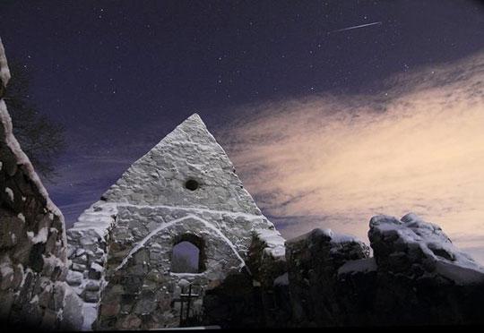 Ảnh đêm mưa sao băng đẹp nhất trong năm 2010