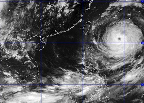 Ảnh hưởng của siêu bão, biển Đông sắp có gió mạnh